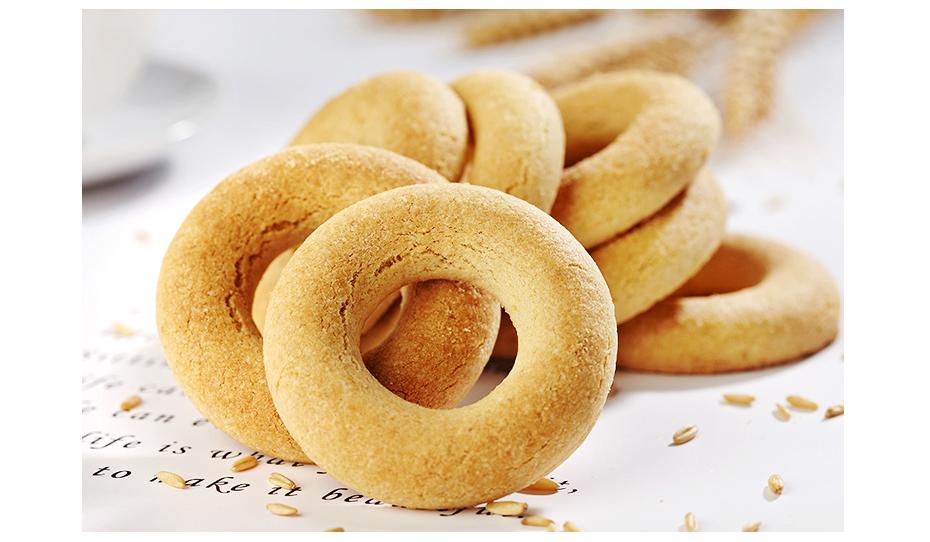 圆形减脂饼干
