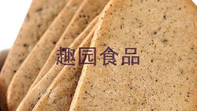 趣园红豆薏仁燕麦代餐减肥饼干