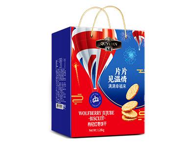 腾讯体育英超直播1008g枸杞红枣饼干