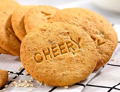 趣园1008g枸杞红枣饼干