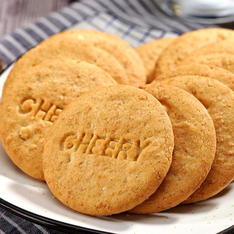 趣园食品麦麸饼干