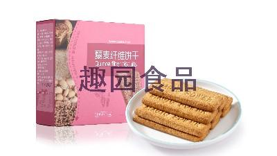 趣园食品-风靡食品界的麦麸饼干来啦